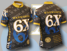 Wadworth 6X cycling jersey design tarn graphics