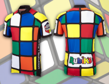 Rubik's Cube cycling jersey design