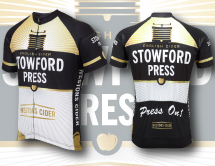 Stowford Press cycling jersey design Tarn Graphics